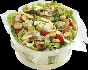 Panier Salade Caesar