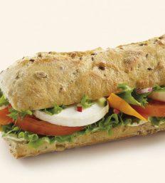 Sandwich Chèvre Légumes
