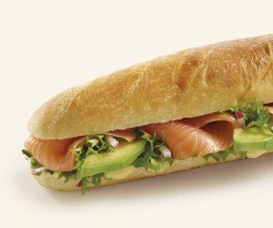 Sandwich Saumon Avocat