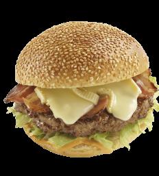 Burger Bacon Reblochon